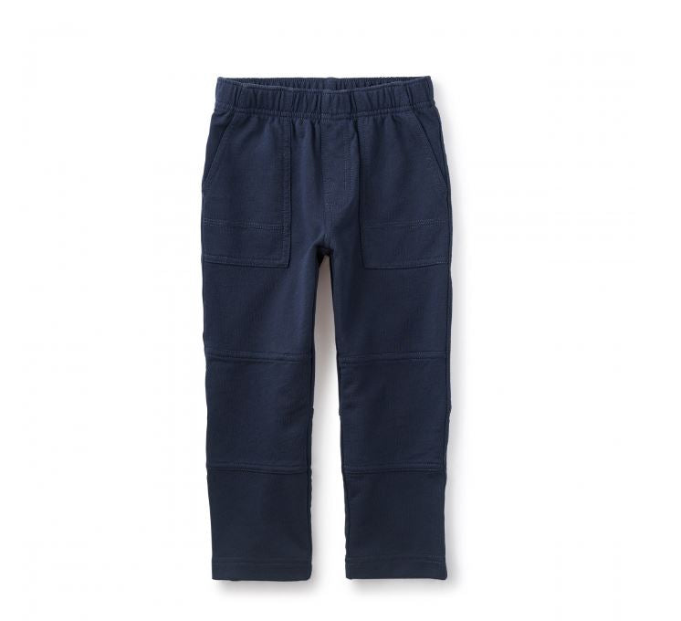 French Terry Playwear Pants Heritage Blue