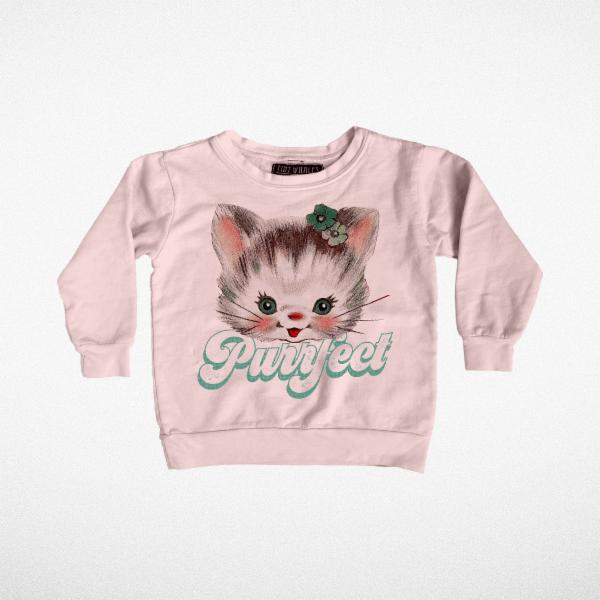 Purrfect Boxy Sweatshirt