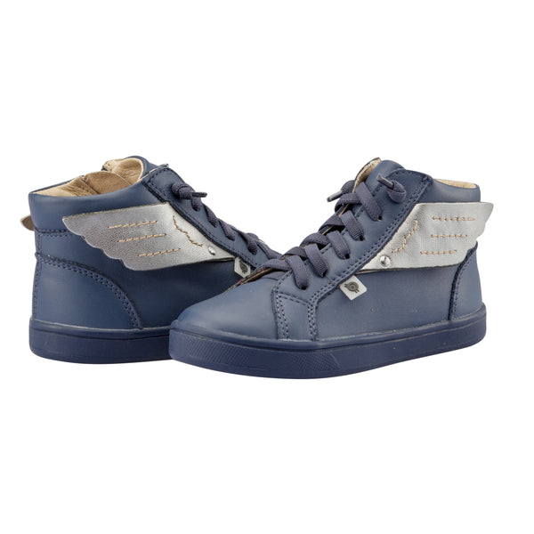 Local Wings High-Top Denim/Rich Silver
