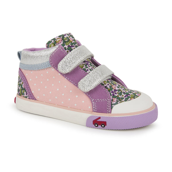 Kya Pink/Purple High Top Sneaker
