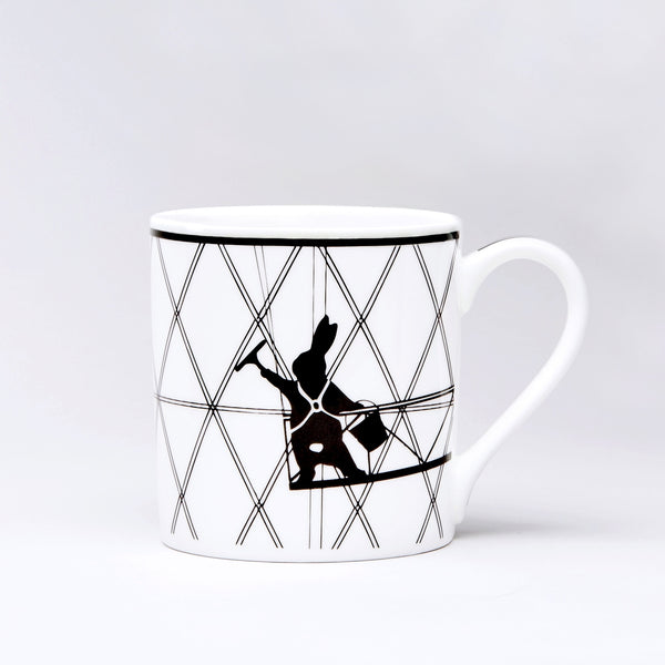 Window Cleaning Rabbit Mug
