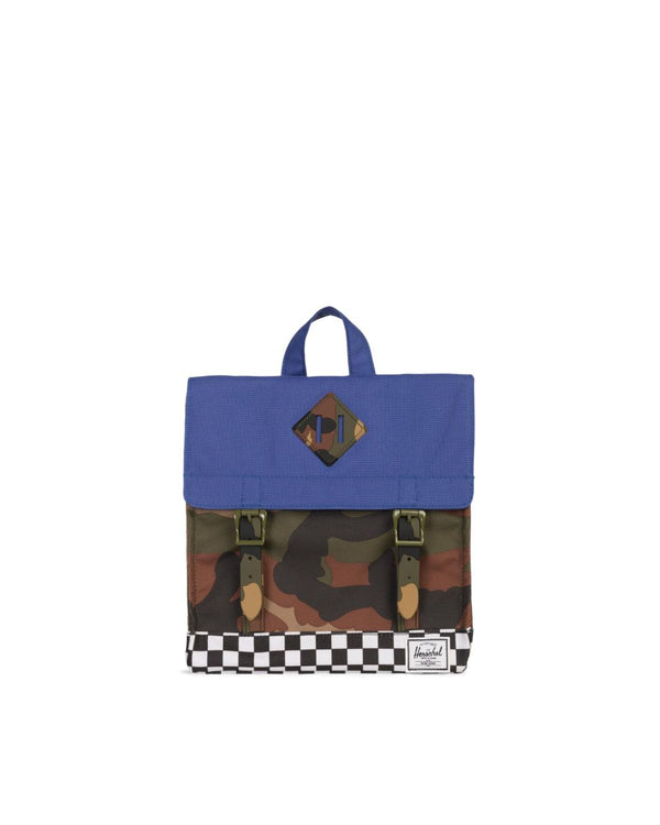 Survey Backpack - Kid Navy Camo