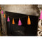 Tassel Garland Pink/Orange