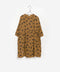 Mustard Chicken Printed Woven Dress