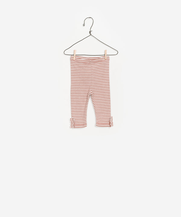 Brick Striped Rib Leggings