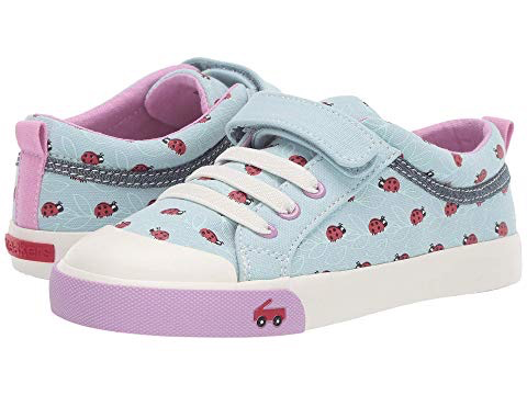 Kristin Blue Lady Bug Sneakers