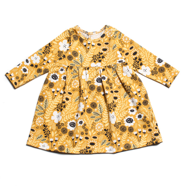 Geneva Dress Baby Wildflower Yellow