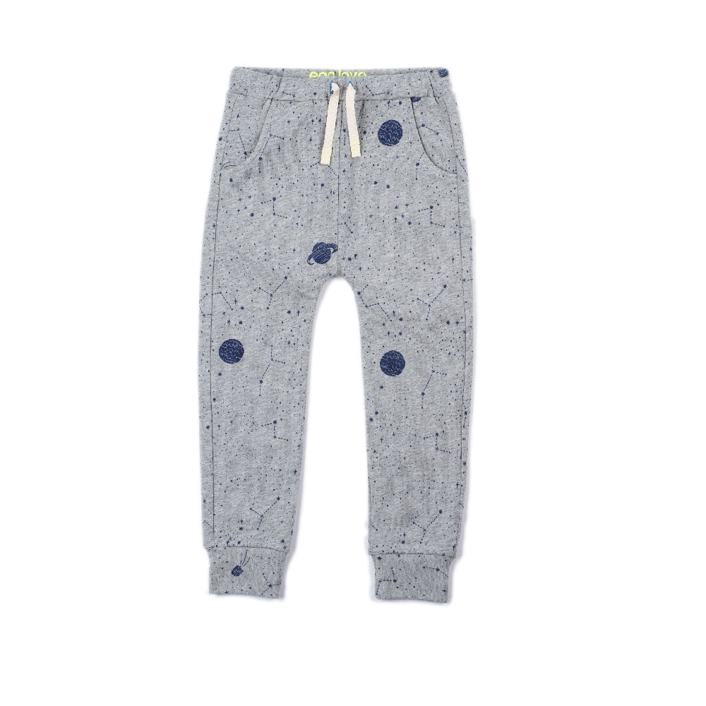 Gray Space Chase Pant