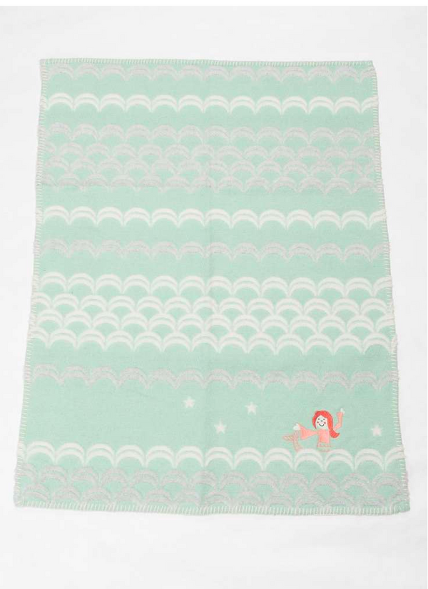 Finn Blanket Mermaid Mint