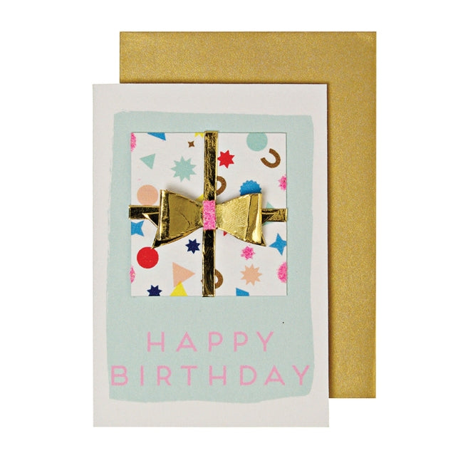 Birthday Present Enclosure Card
