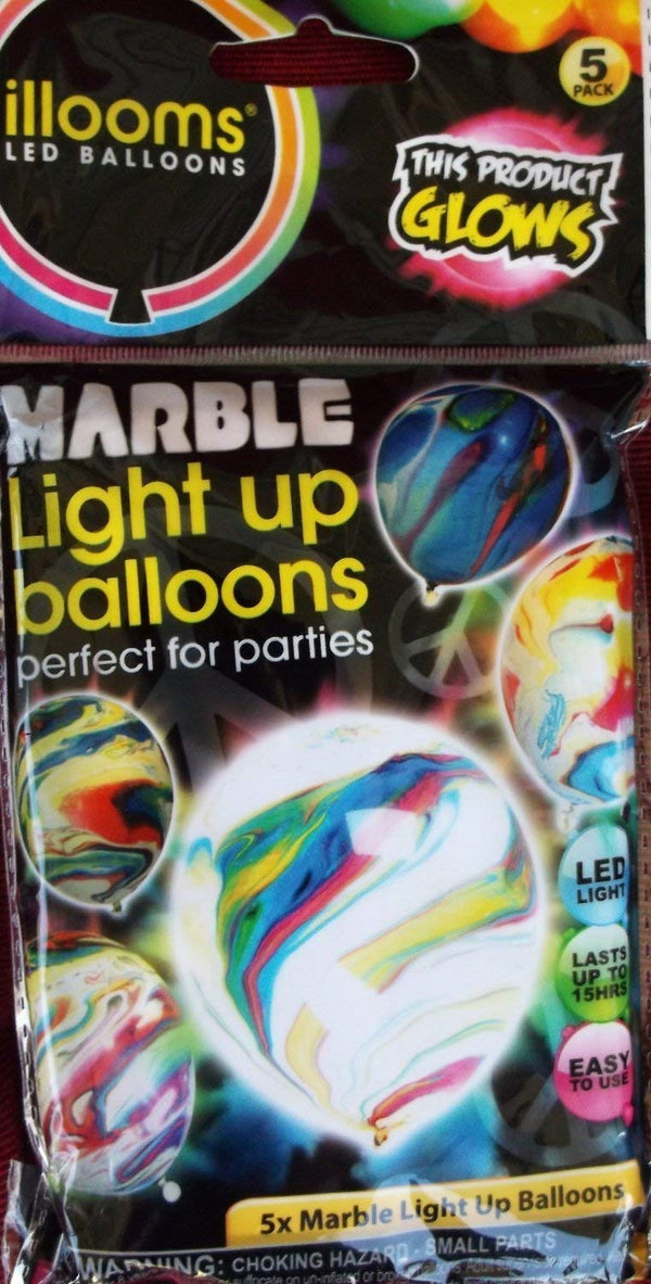 illooms Light Up Balloon Mixed Summer