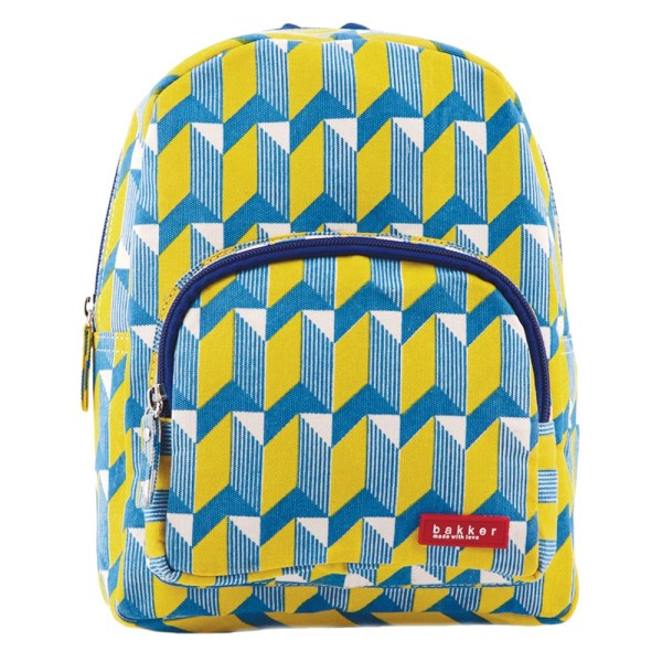 Backpack Mini Canvas Watanabe Yellow