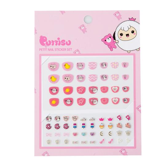 Petit Nail Sticker Set-Strawberry Cake Yummy