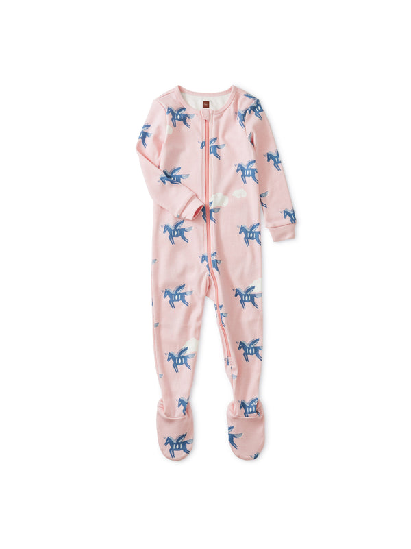 Lungta Windhorse Patterned Footed Pajamas