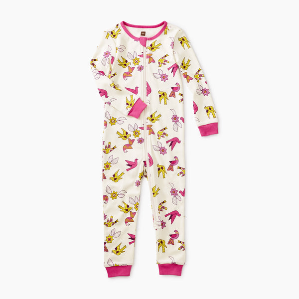 Kanatha Doves Long Sleeve Baby Pajamas