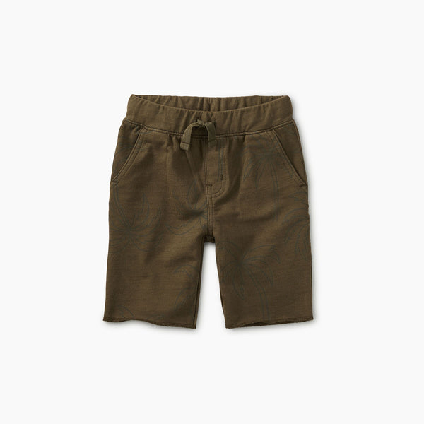 Balmy Palms Patterned Cruiser Baby Shorts