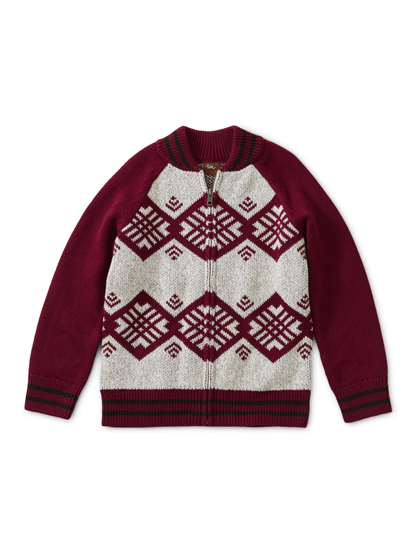 Boysenberry Family Chimmi Choden Cardigan