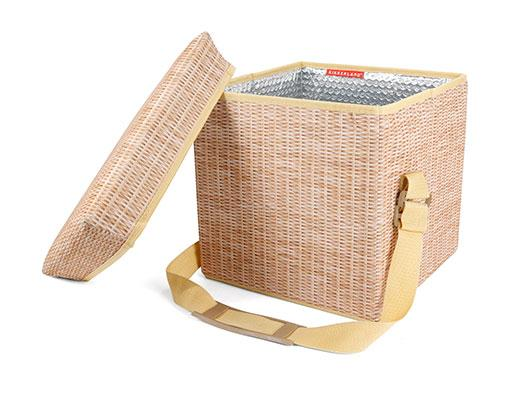 Wicker Picnic Cooler Set