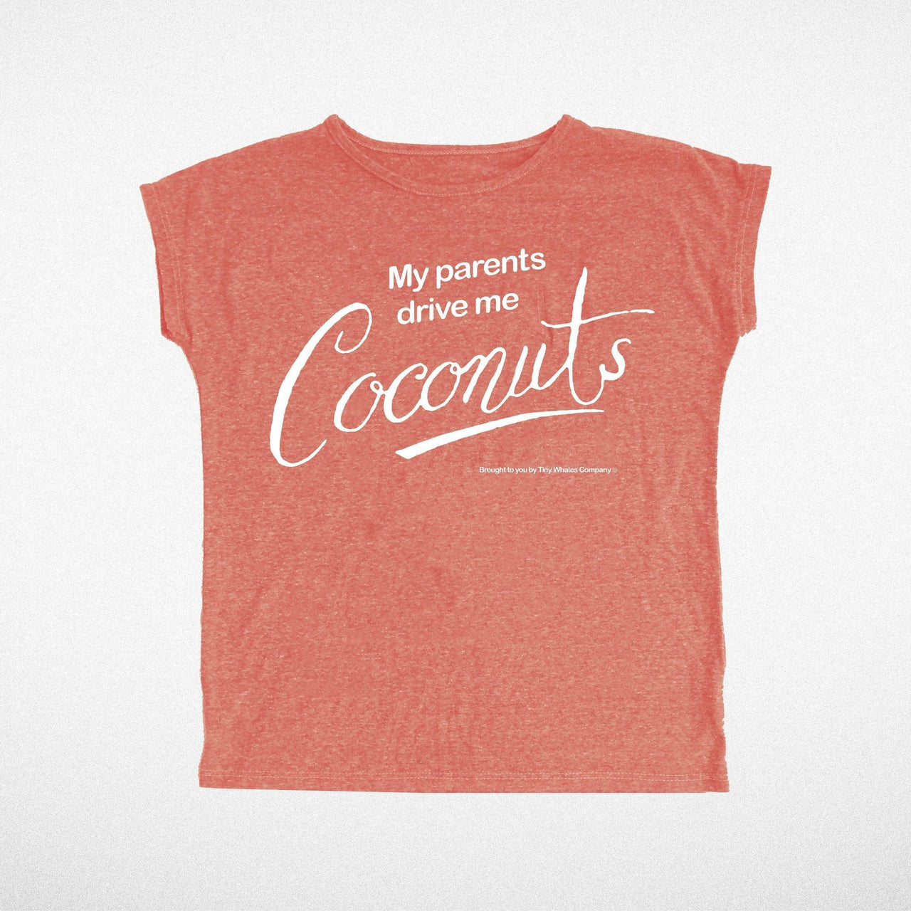 Coconuts Dolman Tee Red