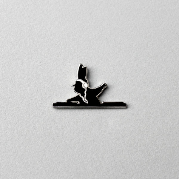 DJ Rabbit Pin