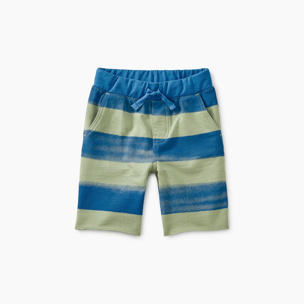 Patterned Cruiser Baby Shorts Painted Stripe - Brush