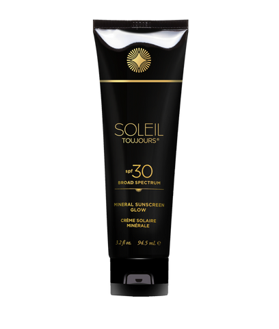 Soleil Toujours - 100% Mineral  Sunscreen Glow SPF 30.