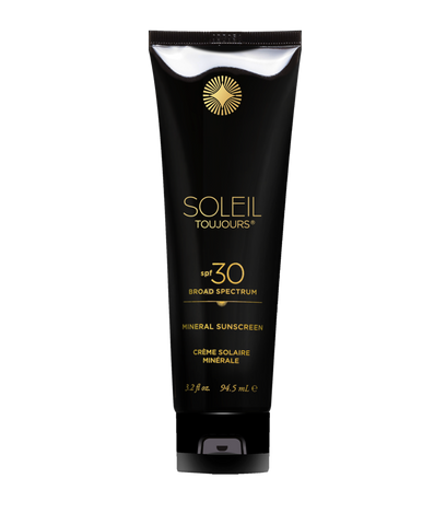 Soleil Toujours - 100% mineral Sunscreen SPF 30.