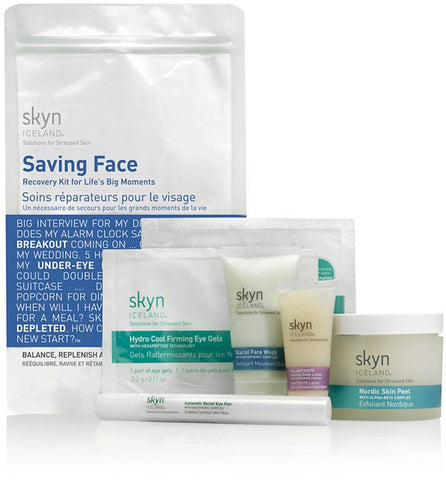 Skyn Iceland - Saving Face Kit.