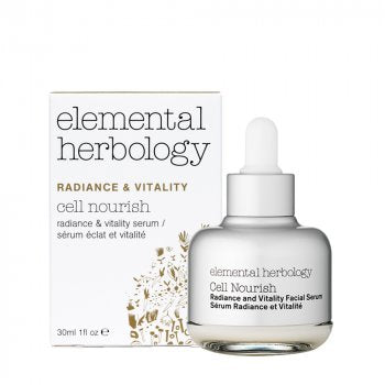 Elemental Herbology - Cell Nourish Radiance and Vitality Serum, 30 ml.