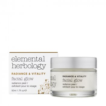 Elemental Herbology - Facial Glow Radiance Peel Mask, 50 ml.