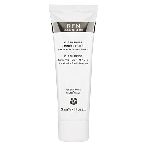REN clean skincare - Flash Rinse 1 Minute Facial