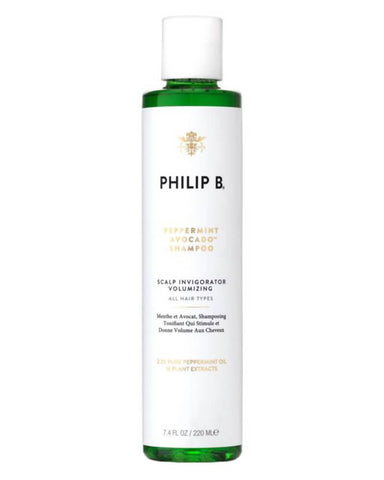 Philip B - Peppermint & Avocado Volumizing & Clarifying Shampoo.