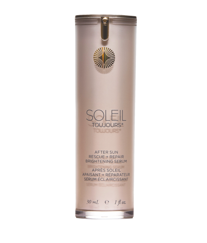 Soleil Toujours - After Sun rescue + repair brightening serum.