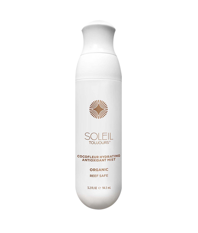 Soleil Toujours - Organic Cocofleur Hydrating antioxidant mist.