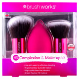 Brush works - HD complexion and makeup kit