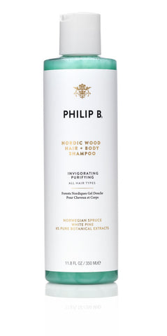 Philip B - Nordic Wood One Step hair and body shampoo.