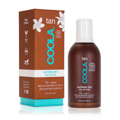 Coola - Sunless Tan dry oil mist, 100 ml.