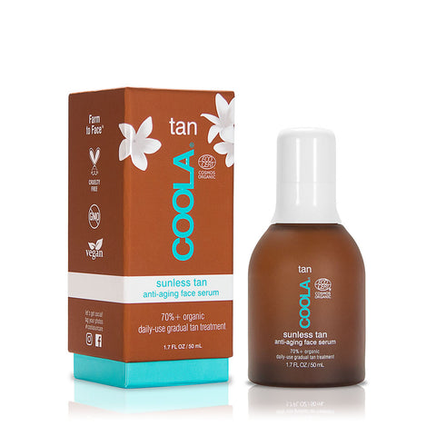 Coola - Sunless Tan antiageing serum, 50 ml.