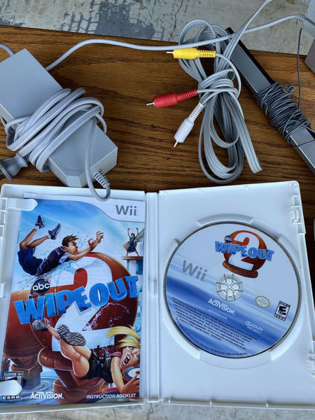 Nintendo Wii White Console Bundle Fast Shipping Tested Working Great