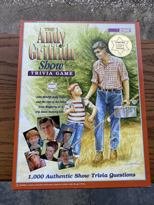 The Andy Griffith Show Trivia Board Game 1998 Mayberry Game Complete Great Shape