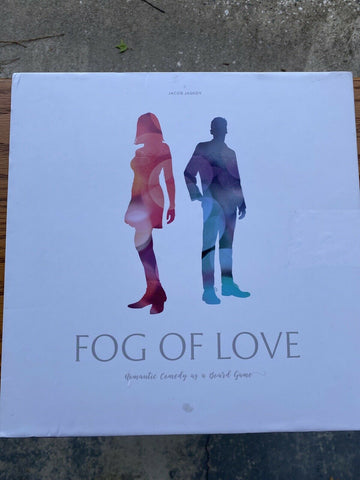 Fog of Love Romantic Comedy Board Game Great Shape Complete - Fast Shipping