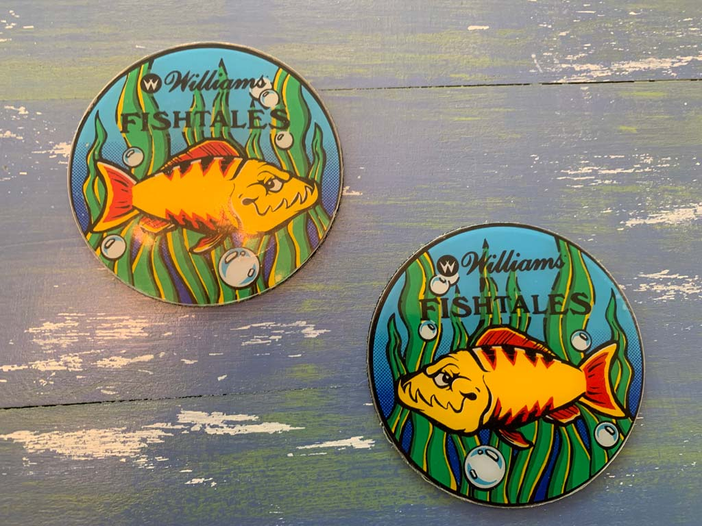 Fish Tales Pinball Coaster Set