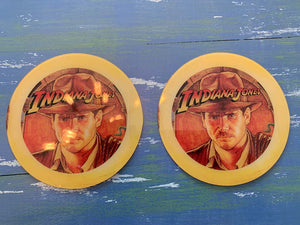 Indiana Jones Pinball Promo Coaster Set