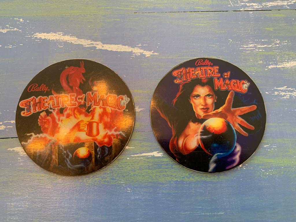 Theatre of Magic Pinball Promo Coaster Set
