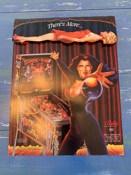 Theater of Magic Pinball Flyer