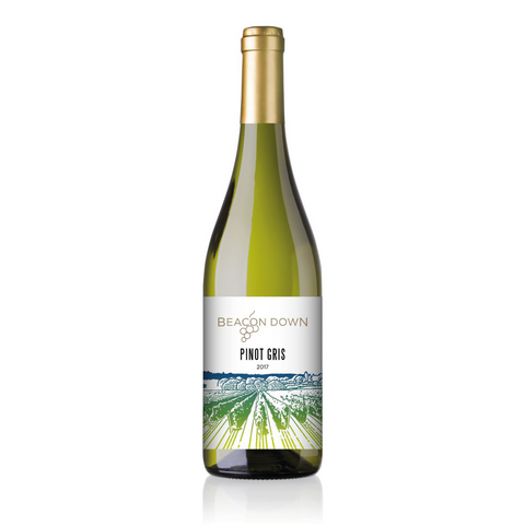Beacon Down Pinot Gris 2017 - 75cl - 12.5% ABV - English Wine Kiosk