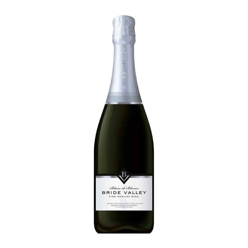 Bride Valley Blanc de Blancs 2014 - 75cl - 12% ABV - English Wine Kiosk