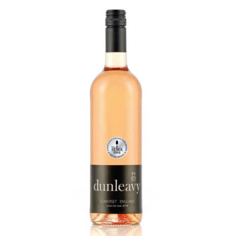 Dunleavy Pinot Noir Rosé 2018 - 75cl - 11.5% ABV - English Wine Kiosk