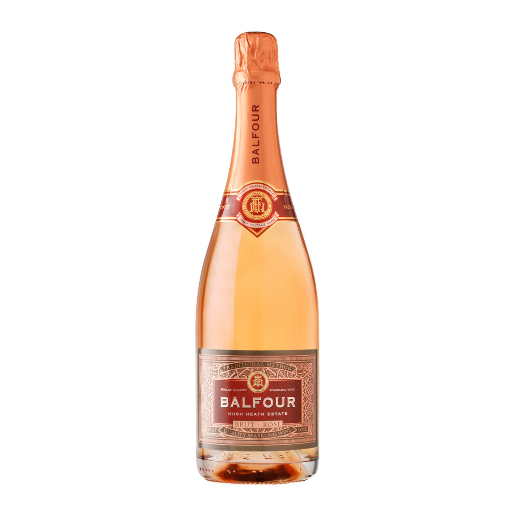 Hush Heath Balfour Brut Rosé 2014 - 75cl - 12% ABV - English Wine Kiosk