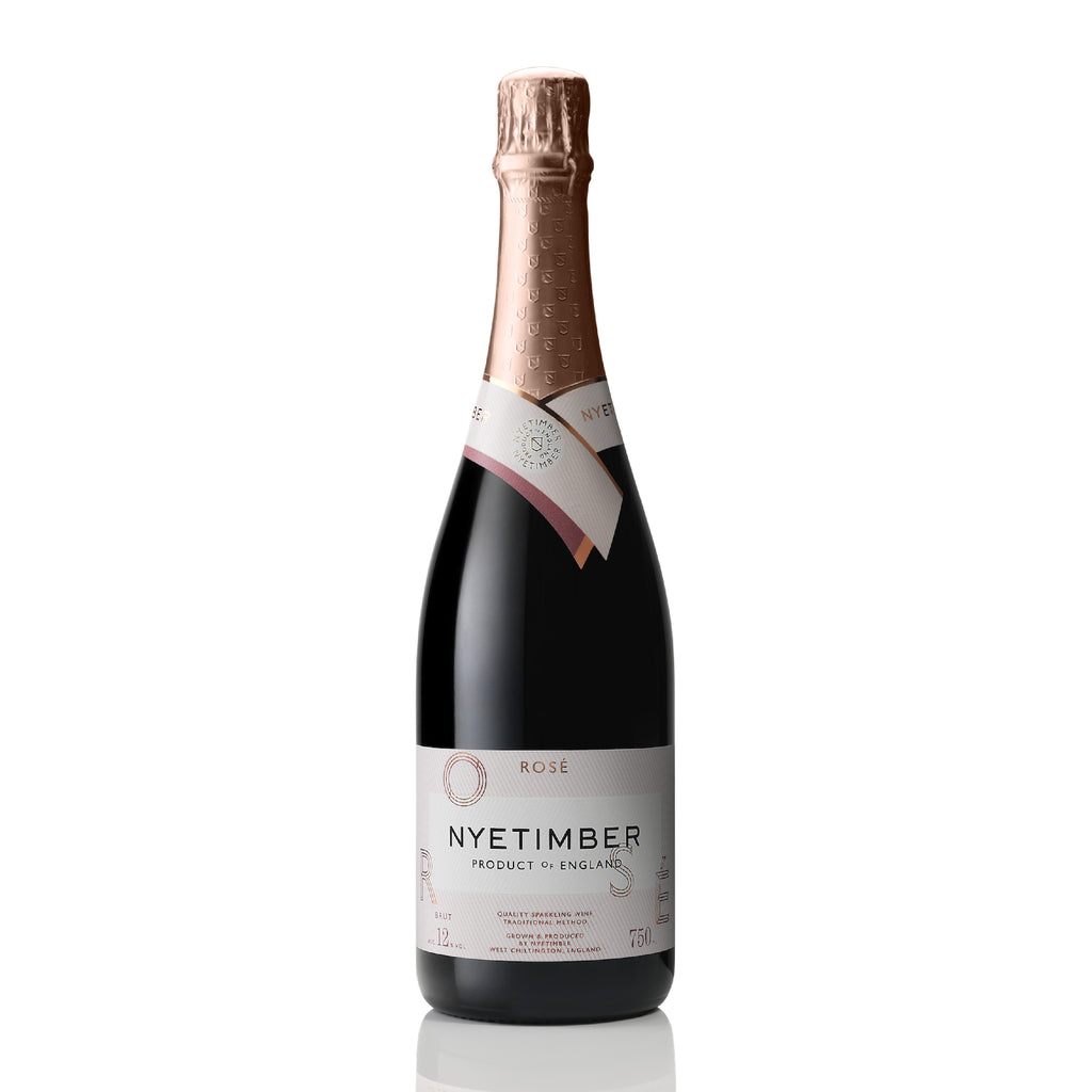 Nyetimber Rosé NV - 75cl - 12% ABV - English Wine Kiosk